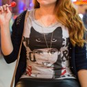 Look do dia: Camiseta de Gatinha!